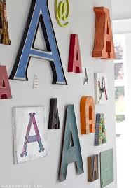 Tremendous Decorative Letters For Walls Wooden Alphabet Set