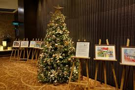 Mountain King Brand Christmas Trees by My 16 000 Christmas Flight On Singapore Airlines First Class