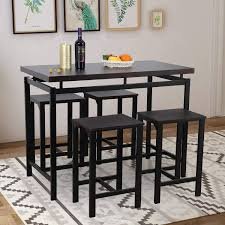 Delectable Dining Room Height Table Sets Bar Set Outdoor Pub ...