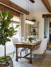 Rustic Farmhouse Dining Room Design Ideas 22