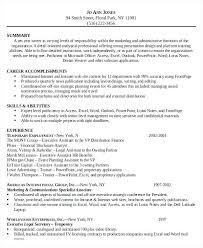 Sample Resume For Attorney Legal Sensational Idea Format Lawyer Position