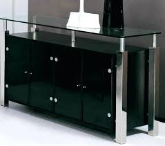 Modern Dining Room Sideboard Sideboards Buffet Cabinet With Glass Top