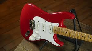 Fender Custom Shop 1969 Journeyman Relic Stratocaster Maple Aged Dakota Red Electric Guitars