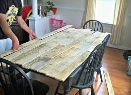 Pallet Kitchen Table For Your Dining Area