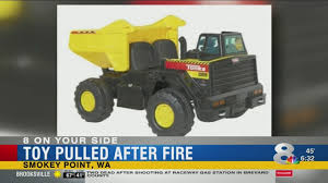 Toys 'r' Us Recalls Tonka Truck After Toy Catches Fire Youtube ... Tonka Trucks For Kids Tonka Diecast Side Arm Garbage Truck B20 Truck And Toy Cars Truck In Surportonsevern Worcestershire Gumtree Amazoncom Toughest Mighty Dump Toys Games Builds Another Reallife Autotraderca Other Board Book Set For Toddlers Of 2 Classic Steel Cstruction Toy Wwwkotulas Video Children Big Flatbed Stock Photos Images Alamy Advertisement Gallery Tough Flipping A Dollar