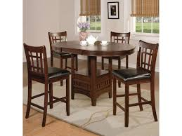 Hartwell Transitional Five Piece Pub Table Set By Crown Mark At Dunk &  Bright Furniture