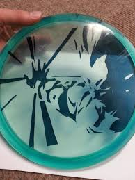 Dragon Ball Z Pumpkin Carving Templates by Check Out My New Disc Golf Dye Of The Prince Of All Saiyans Dbz