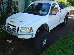 97-03 Ford F150/Expedition To 08 F150 Off Road Fiberglass One Piece ...