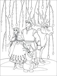 Free Frozen Coloring Pages Printable Disney