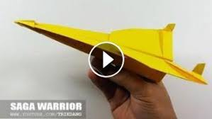 COOL PAPER AIRPLANE