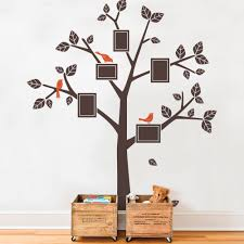Wall Mural Decals Canada by Family Tree Decals Kids Wall Decals Nursery Simple Modern Family