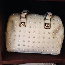 neutral with studs charming charlie purse spring 2014 we are