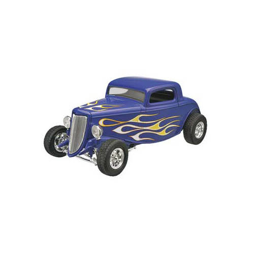 Revell 34 Ford Street Rod Snap Plastic Model Kit - 1/25 scale