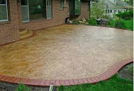 Chic Painted Concrete Patio Ideas