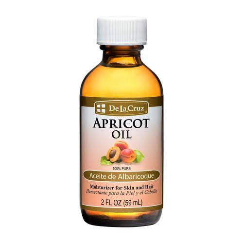 De La Cruz Apricot Oil - 2oz