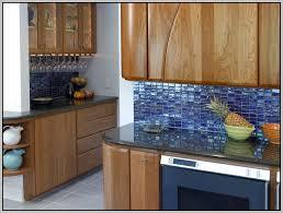 blue green glass subway tile backsplash tiles home decorating