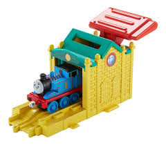 Thomas The Train Tidmouth Sheds Playset by Fisher Price Thomas The Train Take N Play Speedy Launching Thomas