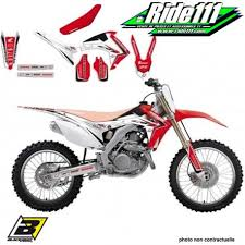 kit deco crf 250 déco et housse de selle blackbird honda linear graphics 250 crf r