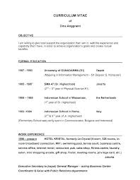 Sample Resume For College Application Example Of Examples High