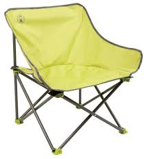 Coleman Oversized Quad Chair With Cooler Pouch by Coleman Kick Back Lightweight Folding Camping Chair Green Camp