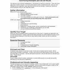 Examples Of Objectives For Resumes Fresh Strong Resume Examples
