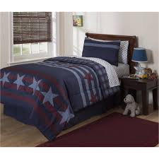 Dallas Cowboys Crib Bedding Set by Mainstays Kids Stars And Stripes 5 Piece Bed In A Bag Bedding Set