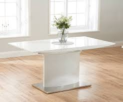 100 White Gloss Extending Dining Table And Chairs Mark Harris Hayden High Only FDUK BEST PRICE GUARANTEE WE WILL BEAT OUR COMPETITORS PRICE Give Our Sales Team A