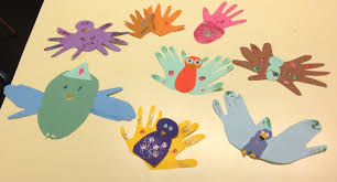 Handprint Art Ideas With Hand