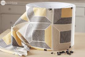 A Simple Diy Lampshade Upgrade One Good Thing Jillee