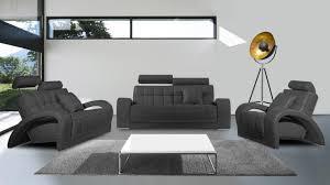 canapé cuir mobilier de salon cuir vratsa composé d un canapés 3 d un canapé 2 places et d