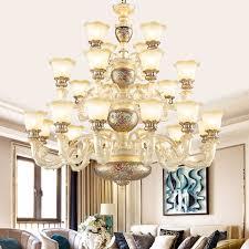 Buy European Chandeliers Living Room Lights Jane Pastoral Resin Lamp Minimalist Dining Lighting Fixtures 8166 12 8 4 H In Cheap Price On