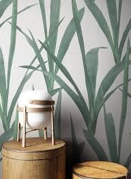 newroom vliestapete weiß tapete modern blätter pflanzen grün mustertapete blumentapete dschungeltapete floral tropisch für wohnzimmer schlafzimmer