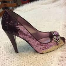 Eggplant Purple Jessica Simpson Hardy Shoes wedding JS Hardy