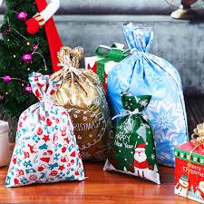 Christmas Drawstring Gift Bag Set MOZNEX Is Of High Quality