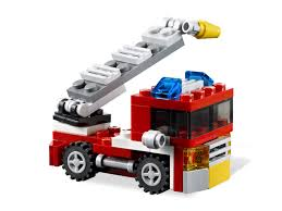 Mini Fire Truck - LEGO Creator Set 6911
