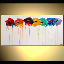 Paintings For Abstract Flowers