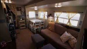 How We Renovated Our Travel Trailer Then Moved Into It Full Time