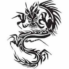 Chinese Tribal Dragon Tattoo In 2018