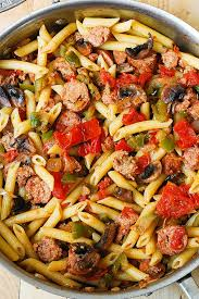 Image Gallery Of Sausage Recipes Dinner Easy 15 With Italian Pasta Vegetables