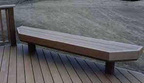 A Maintenance Free Deck Bench Finished In Composite Trim