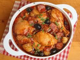 recette cuisine mexicaine pollo en estofado o estofado de pollo miam mexique cuisine