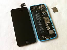 iPhone 5C disassembly screen replacement and repair