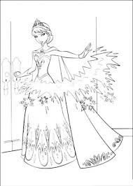 Frozen Coloring Books Pages Book Print