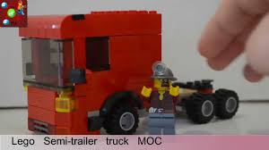 Custom Lego Semi Trailer Truck MOC - YouTube Tiny Turbos Concept Semi Truck Digibrickz White Custom Lego Extended Sleeper Cab With Chrome Trim Ideas Product Ideas Heavy Duty And Road Grader Brickcreator A Red 29 American Super Long Nose Distance Flickr Lego Moc Big Rig Day Cab Single Axle Semi Truck Itructions Ldd Grain Trailers Bin 7 Steps With Pictures Trailer Set Rts House Of Coolness