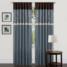 Cherry Blossom Curtain Panels blue and brown curtains cheap sale u2013 ease bedding with style
