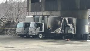 Police: Man And Woman Found In Burning Truck Are Homicide Victims - NECN 2015 Gmc Sierra 1500 Base Bangor Truck Trailer Sales Inc Watch Train Enthusiast Catches Truck Collision On Video Bridgewater Accident Shuts Down Route 1 2019 Dorsey 48 Closed Top Chip Trailer For Sale In Maine Collides With Dump In East Wfmz Dutch Chevrolet Buick Belfast Me Serving Rockland Community Fire Department Mi Spencer Trucks Monster At Speedway 95 2 Jun 2018 Cyr Bus Parked Dysarts Stop Pinterest 2006 Western Star 4964 For Sale By Dealer