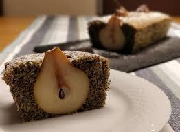 versunkener birnen mohn kuchen ein nudelsieb bloggt