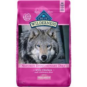 Blue Buffalo Wilderness High Protein Dry Adult Dog Food - 11 lb, Chicken
