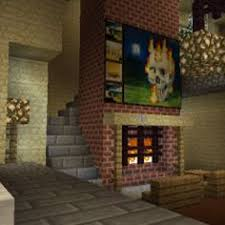 minecraft living room ideas xbox 360 minecraft furniture fireplaces amazing minecraft builds