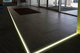 Angled Surface Mount Aluminum Profile Housing For Led Strip Lights Floor Lighting Strips